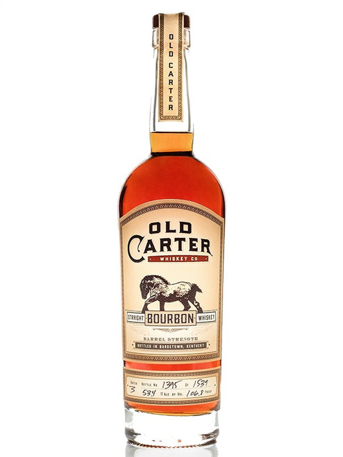 Old Carter Straight American Whiskey Batch 4 139.6P
