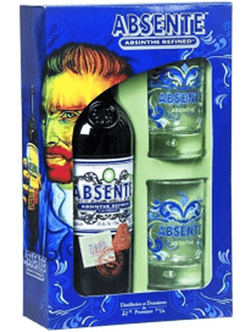 Absente Absinthe Refined 110 Proof W/ Shot Glasses