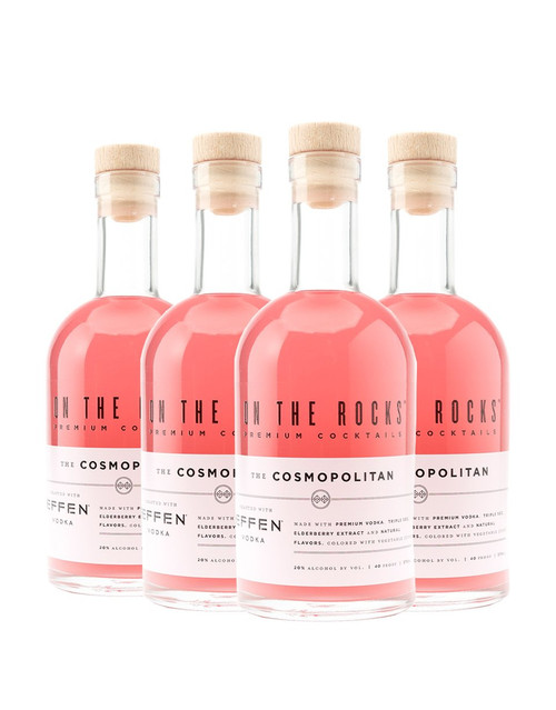 On The Rocks Cocktails Effen Cosmo 4X200ML