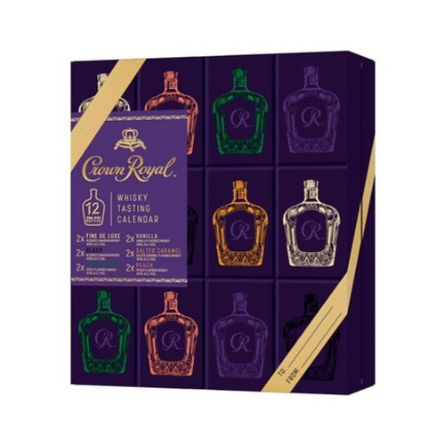 Crown Royal 12 Days of Discovery Whisky Advent Calendar 12pk/50ml Bottles