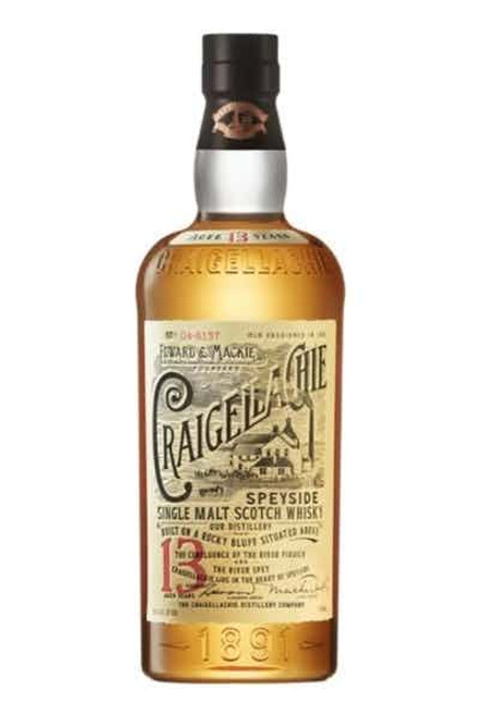 Craigellachie 13 Year Old Single Malt Scotch Whisky