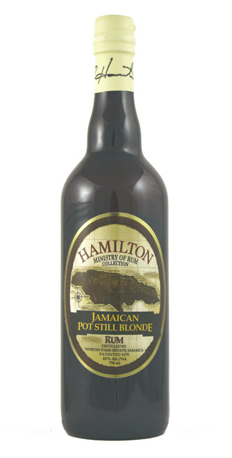 Hamilton Jamaican Pot Still Blonde Rum 750ml