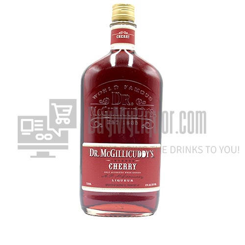 "Dr. McGillicuddy's provides a great tasting, friendly buzz since 1865. Dr. McGillicuddy""s flavors are intense and far superior to competitive liqueurs. The Doctor tastes great chilled, in mixed shots or simple cocktails. The sweet cherry aroma of Dr. McGillicuddy""s Cherry is the first hint that this mouthwatering liqueur will have a bigger, more intense taste than other cherry spirits."