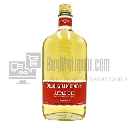 Dr. McGillicuddy's provides a great tasting, friendly buzz since 1865. Dr. McGillicuddy's flavors are intense and far superior to competitive liqueurs. The Doctor tastes great chilled, in mixed shots or simple cocktails. Dr. McGillicuddy's has a range of premium flavored liqueurs and whiskeys. The Dr. McGillicuddy's Apple Pie blends the flavor of ripe, red apples with just the right dash of cinnamon.