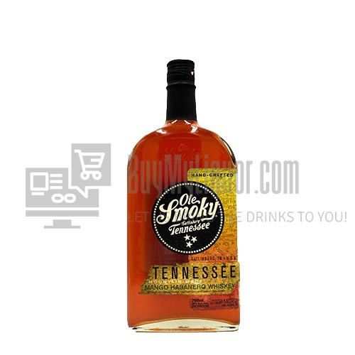 Put a little sizzle in your sweetness with Ole Smoky Tennessee Mango Habanero Whiskey. Creativity is at the heart of this whiskey, with the sweet taste of mango complemented by a spicy habanero pepper finish. Perfect for creating cocktails with a kick!