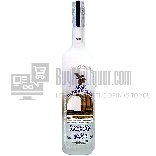 bottle of arak haddad elite