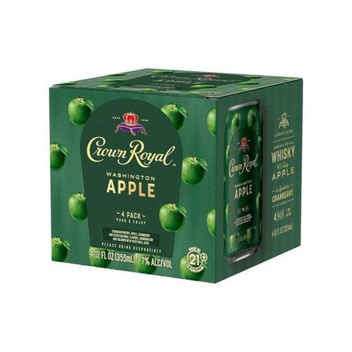Crown Royal Washington Apple 4 PACK Cans