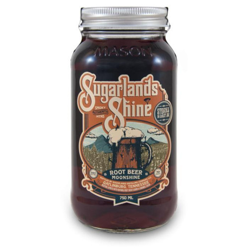 Sugarlands Shine Root Beer Moonshine is simple, almost bubbly, and has the perfect touch of sweetness. The mellow mix of sassafras root, vanilla, and wintergreen make this offering a timeless classic.