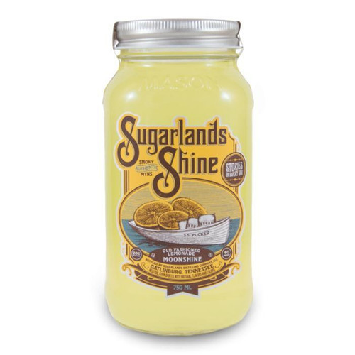 Sugarlands Shine Old Fashioned Lemonade Moonshine meets the tongue with a lively citrus zest that warmly gives way to the sweetness of fresh lemonade. This smooth, vibrant bite of summer sunshine should be served chilled and straight out of the jar.