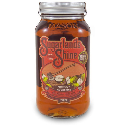 Sugarlands Shine Appalachian Apple Pie Moonshine serves up a zesty taste of fresh baked green apples between two layers of shortbread, accented with a lemon zest. The fresh snap of green apple rounds out into a quick citrus finish with a lingering caramel cushion.
