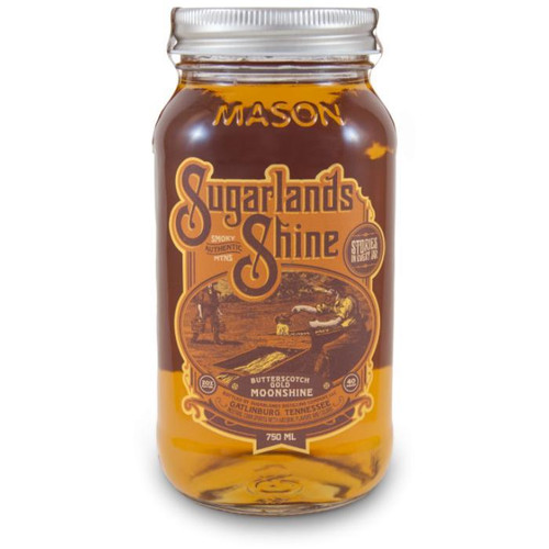 Sugarlands Shine Butterscotch Gold Moonshine brings out tastes of brown sugar, caramel, and vanilla that informs memories of kettle corn at the county fair. Slight hazelnut notes and a lingering cream flavor contributes to a long finish.
