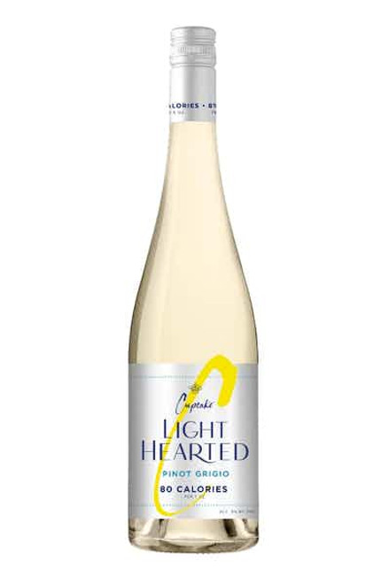 Cupcake LightHearted Pinot Grigio White Wine