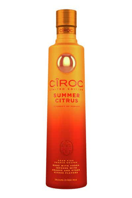 Bottle of ciroc summer citrus 750ml