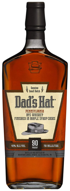 Dad's Hat Penn Rye Finished in Maple Casks 90PF 750ML