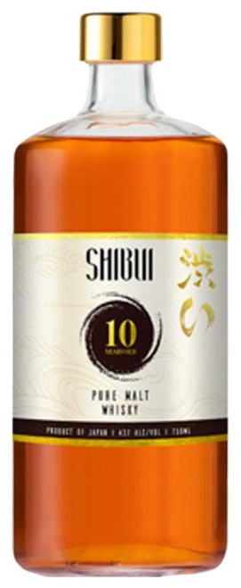 Shibui Pure Malt 10 Year Old Whiskey 750ml