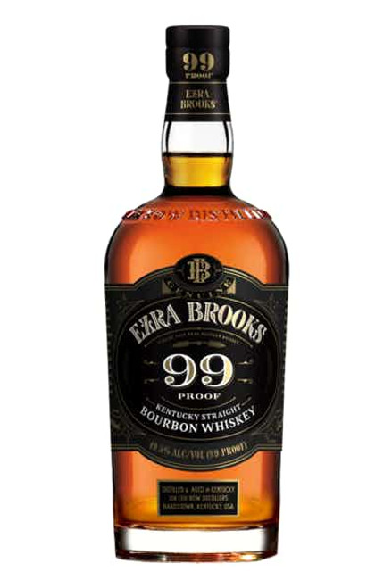Ezra Brooks Bourbon 99 Proof  750ML