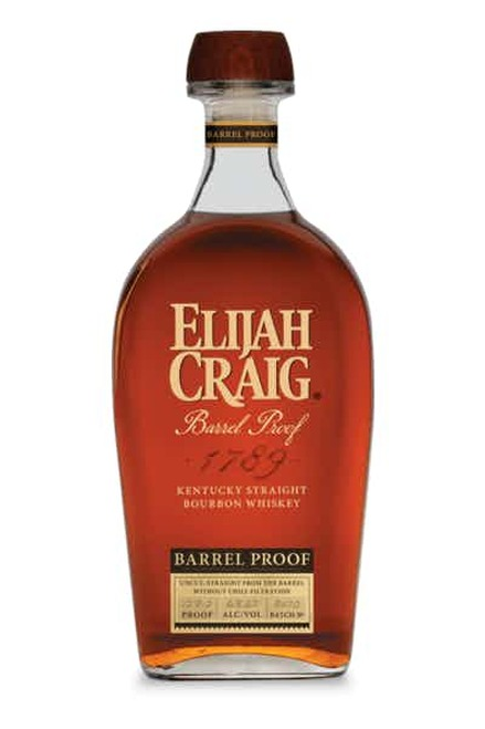 Elijah craig barrel proof bottle