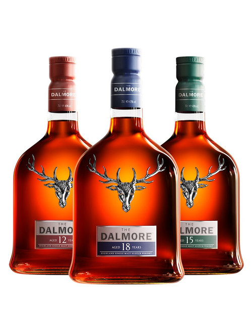 The Dalmore 45 Years Collection 12Y+15Y+18Y