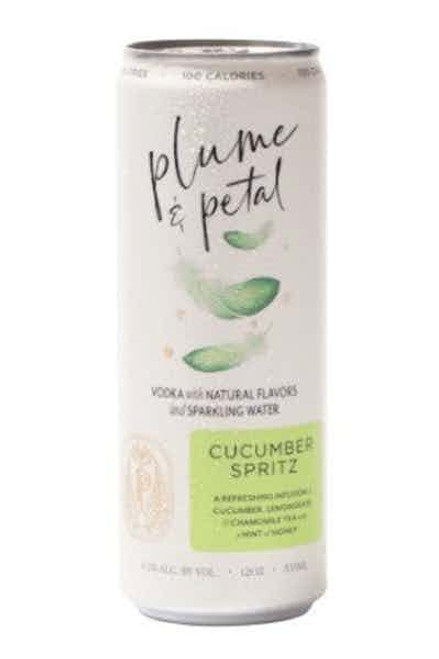 Plume & Petal Cucumber Spritz Ready-To-Drink 4 Pack