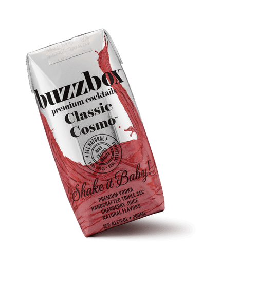 BuzzBox Cocktails Classic Cosmo 4x200ML