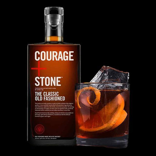 Courage + Stone Old Fashioned 750ml