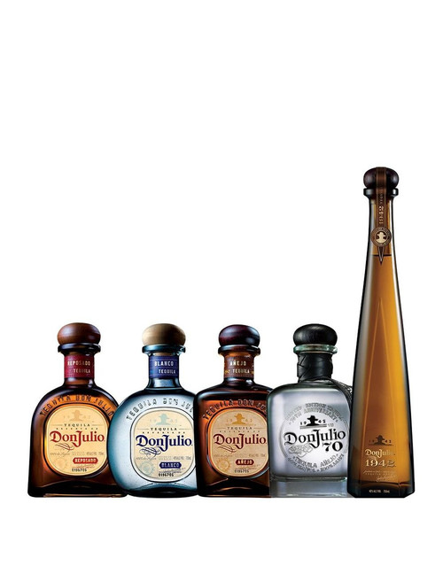 Don Julio Tequila 5 Bottle Collection