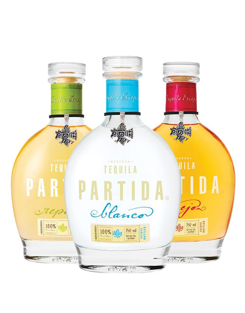 Tequila Partida 3 Bottle Collection
