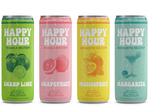 Happy Hour Selzer Variety  8 Pack