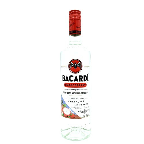 Bacardí Dragon Berry 750ML