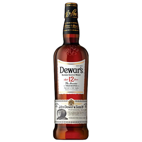 Dewares 12 Years 750ML