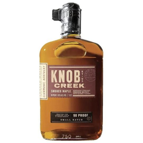 Knob Creek smoked maple 750ML