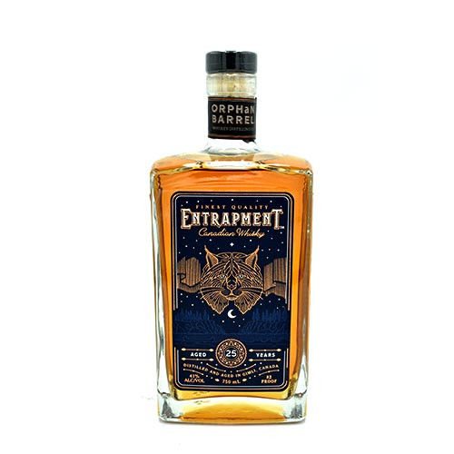 Entrapment Canadian whiskey 750ML