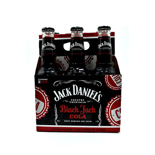 Jack Daniel's Beer, Coke 6 Pack bottle