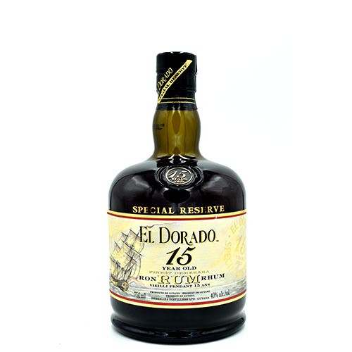 El Dorado 15 Yearsr 750ML