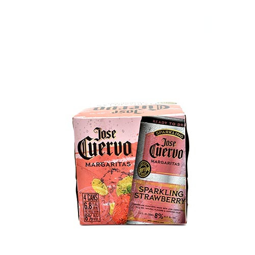 Jose cuervo Strawberry 4 Pack