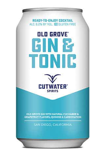 Cutwater Gin n Tonic 4 Pack