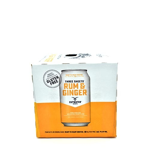 Cutwater Rum & Ginger 4 Pack