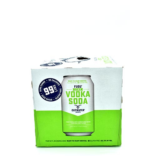 Cutwater Vodka Lime 4 Pack
