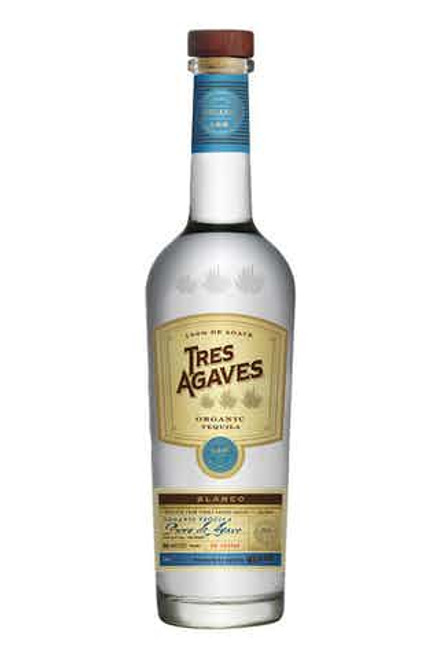 Tres Agaves Tequila Blanco 750ML