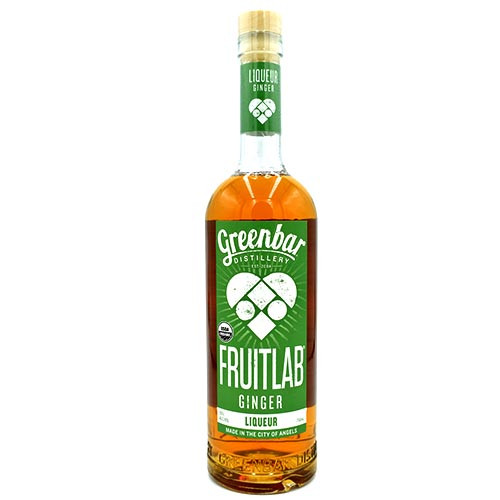 GreenBar FruitLab Ginger  750ML