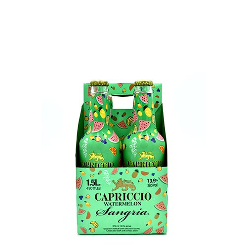 Capriccio Watrmelon Sangria 4 Pack/375ML