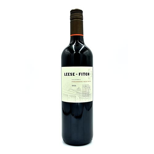 LEESE-Fitch Firehouse Red Wine 750ML