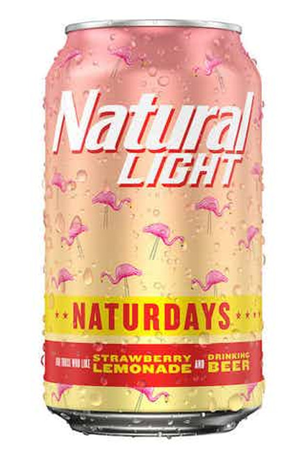 Natural Ice Starwberry Lemonade  12 Pack