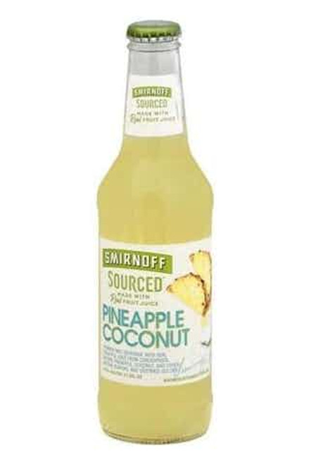 Smirnoff Sourced Pineapple Coconut 6 Pack