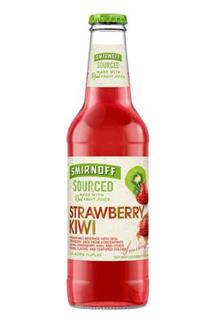 Smirnoff Sourced Strawberry-Kiwi 6 Pack