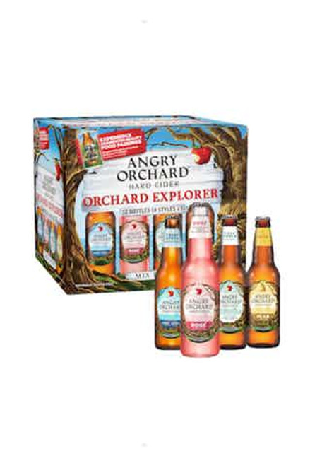 Angry Orchard V Mix  12 Pack Cans