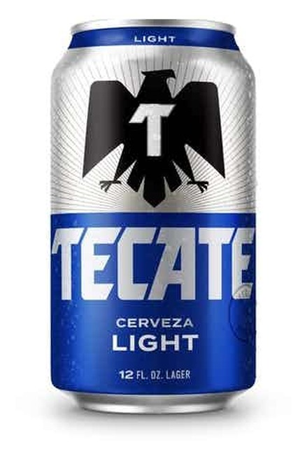 Tecate Light 12 Pack Can
