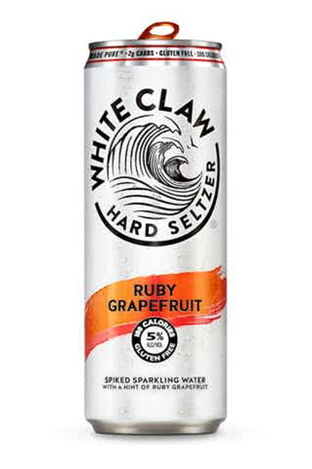 White Claw White Claw Ruby grapefruit 6 Pack