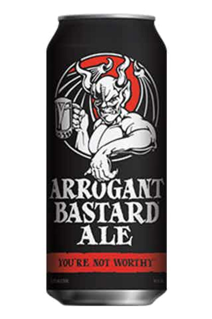 Stone Arrogant Bastard  Ale 12 oz Can 6 Pack