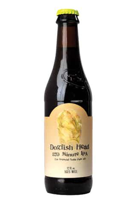 Dogfish Head 120minute IPA 12 oz 4 Pack